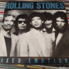 Discos de vinilo: ROLLING STONES–MIXED EMOTIONS. SINGLE VINILO. SPAIN 1989. Lote 261945730