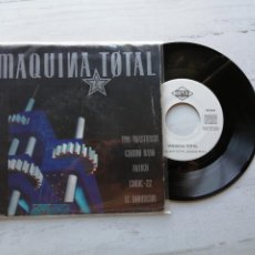 Discos de vinilo: VARIOUS ‎– MAQUINA TOTAL 2 SINGLE SPAIN 1991 VINILO EX/PORTADA VG++. Lote 261962175