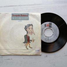 Discos de vinilo: JOAQUÍN SABINA – QUE SE LLAMA SOLEDAD SINGLE SPAIN 1987 VG++/VG++. Lote 261962590