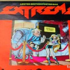 Discos de vinilo: EXTREME * MAXI VINILO * GET THE FUNK * EDICIÓN LIMITADA * CON POSTER!! UK 1990. Lote 261962885