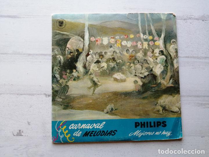 Discos de vinilo: Various – Navidades Philips Single 1964 Portada Rocío Durcal - Foto 2 - 261964255