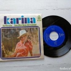 Discos de vinilo: KARINA (4) – LA FIESTA SINGLE 1968 EX/EX. Lote 261964950