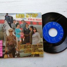 Discos de vinilo: LOS STOP – EL TURISTA 1.999.999 EP SPAIN 1967 VINILO EX/PORTADA VG++. Lote 261966625