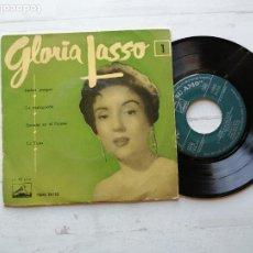 Discos de vinilo: GLORIA LASSO – GLORIA LASSO 1 EP SPAIN 1956 VG/VG. Lote 261967705