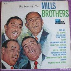 Discos de vinilo: LP - MILLS BROTHERS - THE BEST OF (USA, DECCA RECORDS SIN FECHA). Lote 261968330