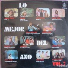 Discos de vinilo: LP - LO MEJOR DEL AÑO - VOL. 7 (VARIOS) (SPAIN, HISPAVOX 1970). Lote 261971860