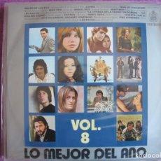 Disques de vinyle: LP - LO MEJOR DEL AÑO - VOL. 8 (VARIOS) (SPAIN, HISPAVOX 1971). Lote 261971980