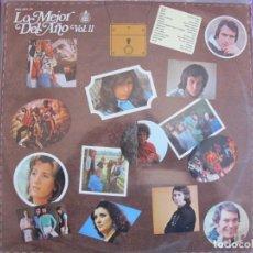Discos de vinilo: LP - LO MEJOR DEL AÑO - VOL. 11 (VARIOS) (SPAIN, HISPAVOX 1974). Lote 261972340
