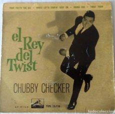Discos de vinilo: CHUBBY CHECKER - EL REY DEL TWIST LA VOZ DE SU AMO - 1958 - 9. Lote 261976820