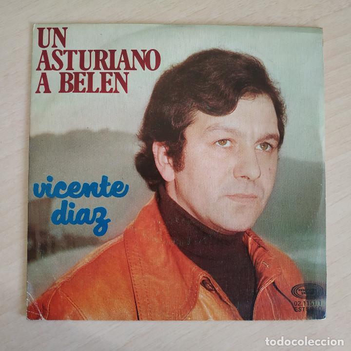 VICENTE DIAZ - UN ASTURIANO A BELÉN / VAQUEIROS A BELÉN (SINGLE MOVIEPLAY 1976) VINILO NUEVO (Música - Discos - Singles Vinilo - Étnicas y Músicas del Mundo)