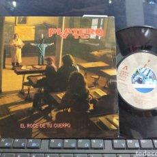 Discos de vinilo: PLATERO Y TÚ SINGLE PROMOCIONAL EL ROCE DE TU CUERPO 1992. Lote 261977850