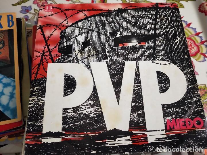 "PVP* - MIEDO (7"", SINGLE) SELLO:DB BELTER CAT. Nº: 1-10.255.BUEN ESTADO. NEAR MINT / NM (Música - Discos - Singles Vinilo - Punk - Hard Core)"
