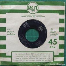 """Discos de vinilo: MIGUEL MARTÍNEZ, PUCHO BOEDO, LINA MONTALVO - AGÁRRATE SAXO (7"""", EP, PROMO) (1960/ES). Lote 261988605"""