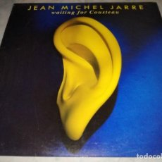 Discos de vinilo: JEAN MICHEL JARRE-WAITING FOR COUSTEAN-ORIGINAL ESPAÑOL. Lote 261990280