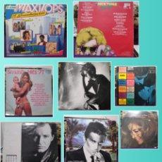 Discos de vinilo: GRAN LOTE VINILOS VINTAGE. MIX TIME HIP HOP Y REGALO 9 VINILOS ANTIGUOS. Lote 261992980