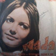 Discos de vinilo: NADA.** CHE MALE FA LA GELOSIA * RITORNIRA VICINO A MI **. Lote 261995545