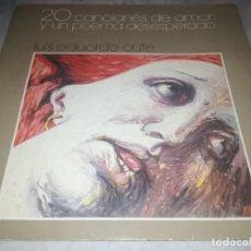 Discos de vinilo: LUIS EDUARDO AUTE-20 CANCIONES DE AMOR Y UN POEMA DESESPERADO-DOBLE LP. Lote 261996425