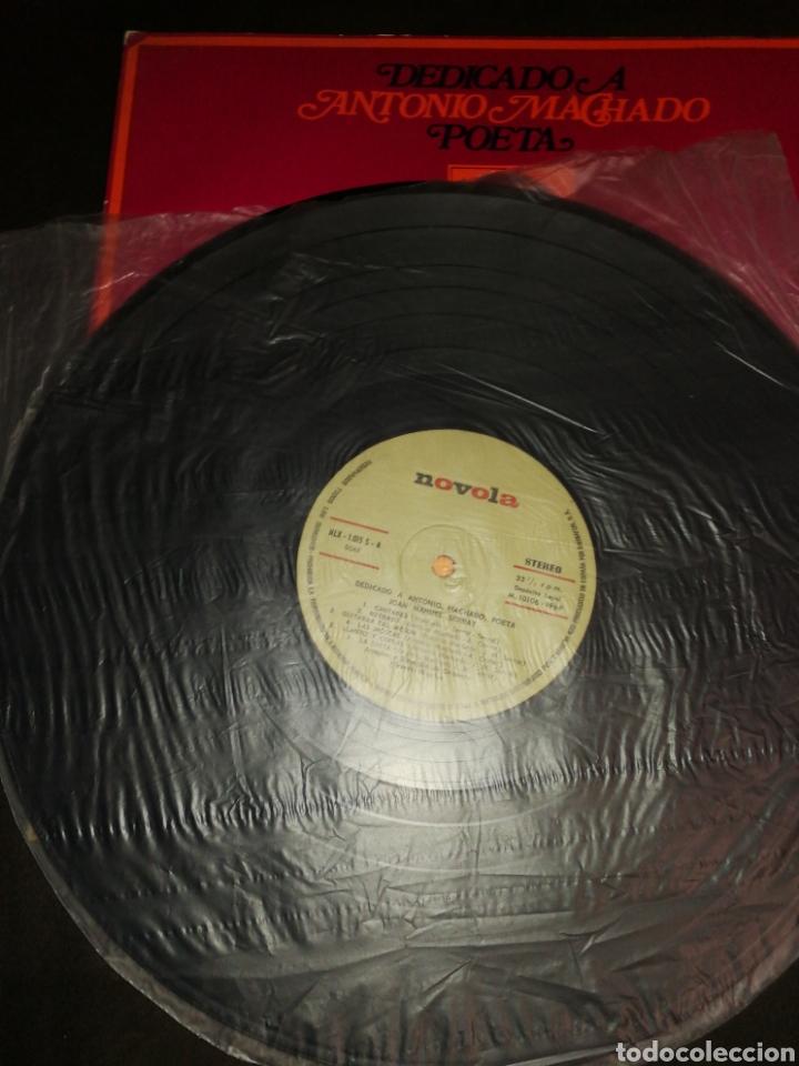 Discos de vinilo: JOAN MANUEL SERRAT, DEDICADO A ANTONIO MACHADO, VINILO. - Foto 2 - 261998545
