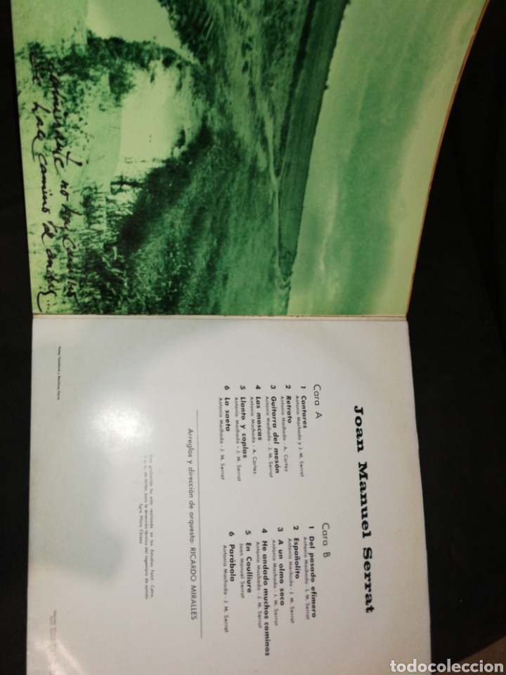 Discos de vinilo: JOAN MANUEL SERRAT, DEDICADO A ANTONIO MACHADO, VINILO. - Foto 4 - 261998545