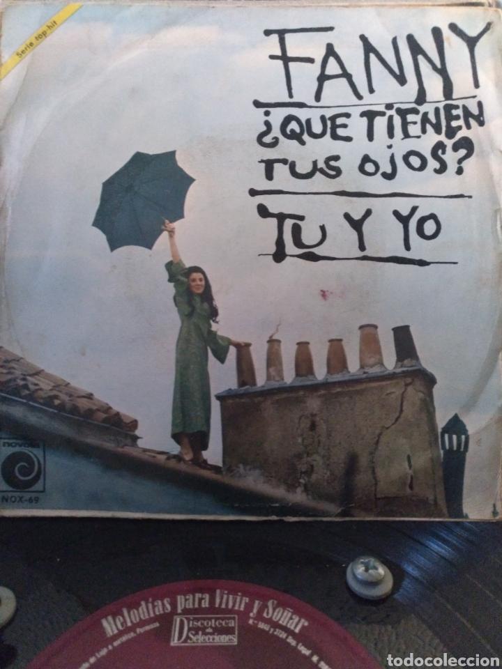 FANNY.** QUE TIENEN TUS OJOS * TU Y YO ** (Música - Discos - Singles Vinilo - Solistas Españoles de los 50 y 60)