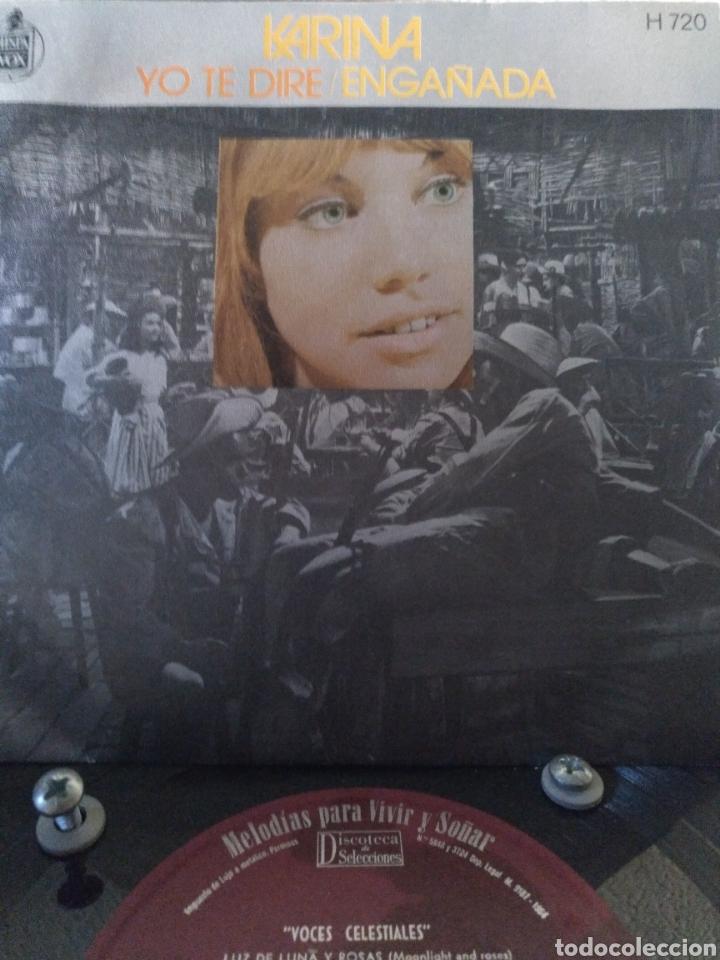 KARINA.** YO TE DIRÉ * ENGAÑADA ** (Música - Discos - Singles Vinilo - Solistas Españoles de los 50 y 60)