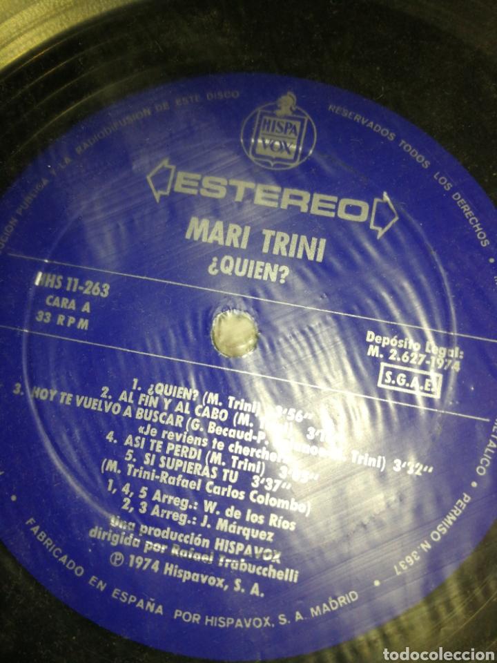 Discos de vinilo: VINILO MARI TRINI LP, 1974 - Foto 4 - 262002330