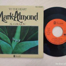 Discos de vinilo: MARK-ALMOND - NEW YORK OF MIND / TRADE WINDS - SINGLE ABC RECORDS SPAIN AÑO 1976 COMO NUEVO. Lote 262002700