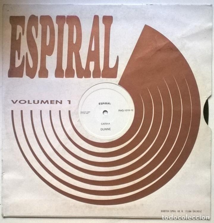 ESPIRAL, VOLUMEN 1: DUNNE. AREA IMPORI RECORDS, SPAIN 1991 (MAXI 12') (Música - Discos de Vinilo - Maxi Singles - Electrónica, Avantgarde y Experimental)