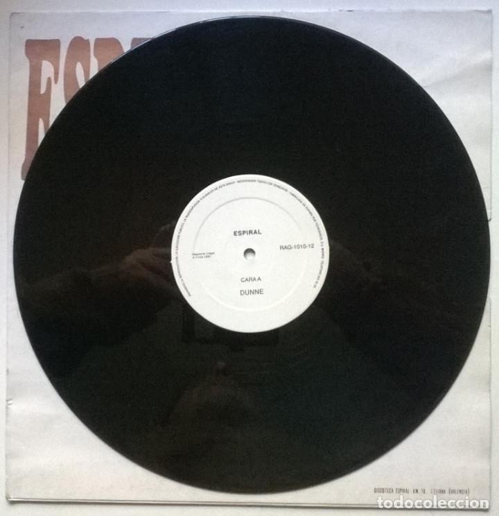 Discos de vinilo: Espiral, Volumen 1: Dunne. Area Impori records, Spain 1991 (Maxi 12) - Foto 3 - 262006135