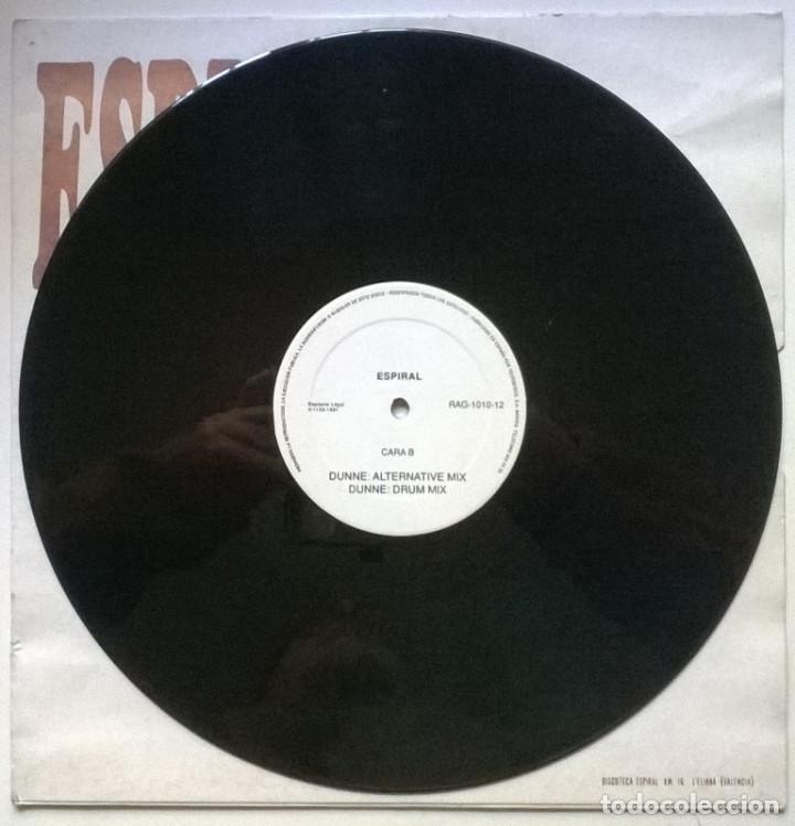 Discos de vinilo: Espiral, Volumen 1: Dunne. Area Impori records, Spain 1991 (Maxi 12) - Foto 4 - 262006135