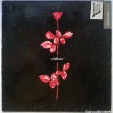Discos de vinilo: DEPECHE MODE. VIOLATOR. SANNI (STUMM 64), SPAIN 1990 LP + ENCARTE. Lote 262008355