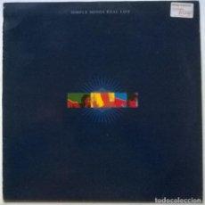 Discos de vinilo: SIMPLE MINDS. REAL LIFE. VIRGIN, SPAIN 1991 LP + 2 ENCARTES. Lote 262008830