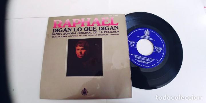 RAPHAEL-EP DIGAN LO QUE DIGAN +3-BUEN ESTADO (Música - Discos de Vinilo - EPs - Solistas Españoles de los 70 a la actualidad)