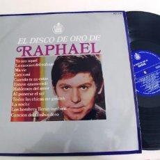 Discos de vinilo: RAPHAEL-LP EL DISCO DE ORO-BUEN ESTADO. Lote 262009150