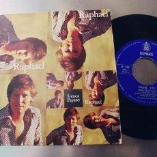 Discos de vinilo: RAPHAEL-SINGLE SOMOS-NUEVO. Lote 262011010