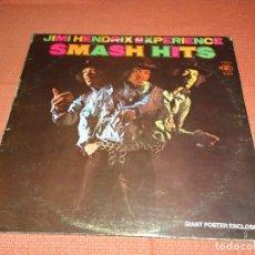 Discos de vinilo: LP JIMI HENDRIX EXPERIENCE SMASH HITS REPRISE PRIMERA EDICION USA CON POSTER. Lote 262011065
