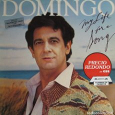Discos de vinilo: PLÁCIDO DOMINGO - MY LIFE FOR A SONG. Lote 262011925