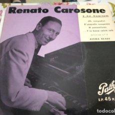 """Discos de vinilo: RENATO CAROSONE Y SU CUARTETO (7"""", EP) PATHÉ, 45EMA 40.032, BUEN ESTADO.NEAR MINT / VG+. Lote 262014785"""
