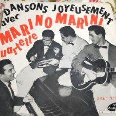 """Discos de vinilo: MARINO MARINI ET SON QUARTETTE* - DANSONS JOYEUSEMENT VOL. 1 (7"""", EP)BUEN ESTADO.NM/VG+. Lote 262015375"""