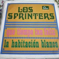 Discos de vinilo: LOS SPRINTERS-QUE TIEMPO TAN FELIZ/LA HABITACIÓN BLANCA(7)FONTANA 272 373TF.BUEN ESTADO.NM/NM. Lote 262015515