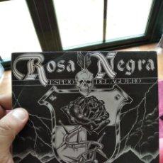 Discos de vinil: SINGLE ROSA NEGRA ESPEJO DEL AGUJERO EX/NM. Lote 262032340