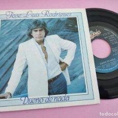 Discos de vinilo: JOSE LUIS RODRIGUEZ - DUEÑO DE NADA / SI A VECES HABLO DE TI. Lote 262034925