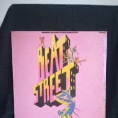 Discos de vinilo: LP ORIGINAL MOTION PICTURE SOUNDTRACK - BEAT STREET - LP ATLANTIC 1984. Lote 262040210