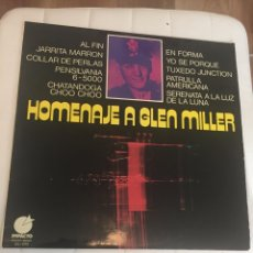 Discos de vinilo: DISCO LP STEREO/MONO HOMENAJE A GLEN NILLER. Lote 262046540