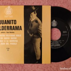 "Discos de vinilo: 7"" JUANITO VALDERRAMA - YO QUIERO VOLVERME MALO +3 - HISPAVOX 27 516 M - EP FRANCE PRESS (EX-/EX+). Lote 262050845"