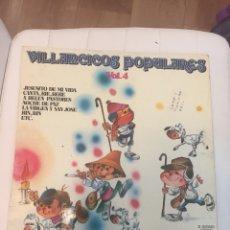 Discos de vinilo: DISCO LP ESTÉREO VILLANCICOS POPULARES VOL. 4. Lote 262052760
