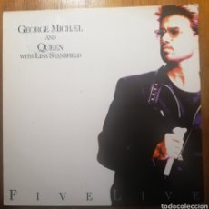 Discos de vinilo: GEORGE MICHAEL AND QUEEN WITH LISA STANSFIELD EP 1993. Lote 262052980