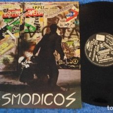 Discos de vinilo: ESPASMODICOS SPAIN MIINI LP ORIGINAL 1983 SPANISH PUNK ROCK 1ª EDICIÓN MUSIKRA RARO MUY BUEN ESTADO. Lote 262055875