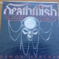 Discos de vinilo: DEATHWISH DEMON PREACHER LP 1988. Lote 262056070