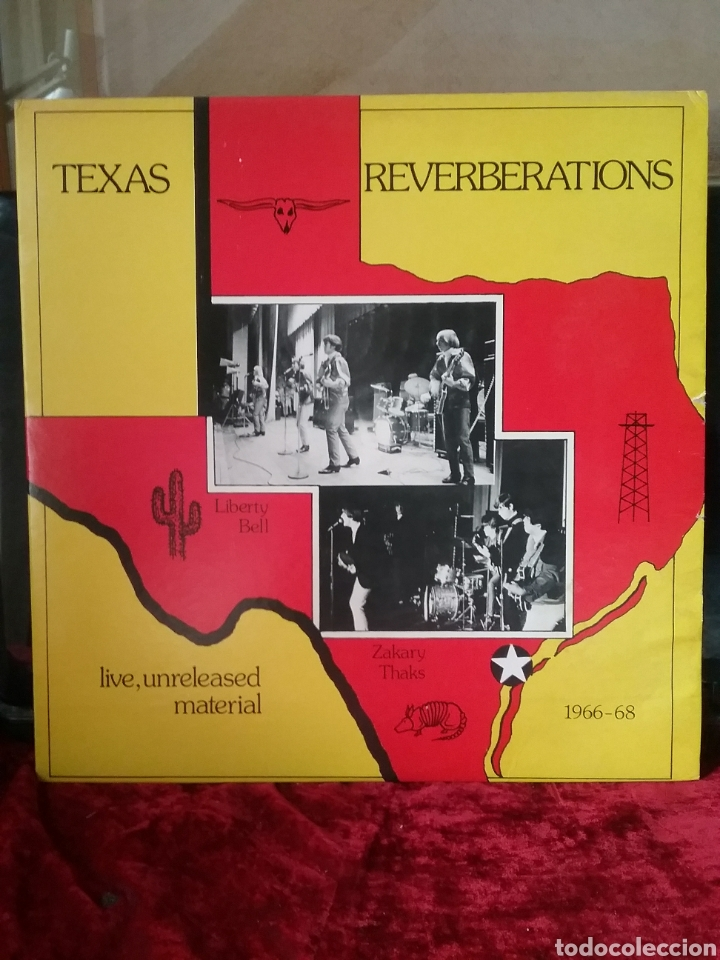 TEXAS REVERBERATIONS ZAKARY THAKS / LIBERTY BELL. TEXAS ARCHIVES RECORDINGS 1982 (Música - Discos - LP Vinilo - Pop - Rock Internacional de los 50 y 60)